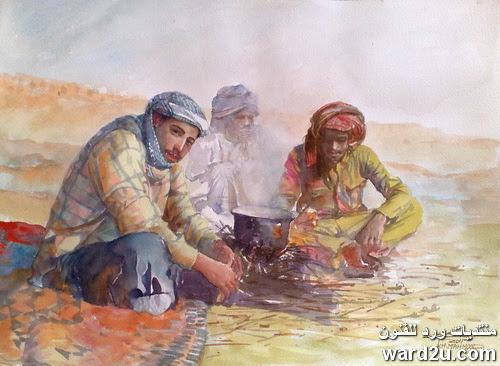 الفنان العراقى خليف محمود Khleif Mahmood