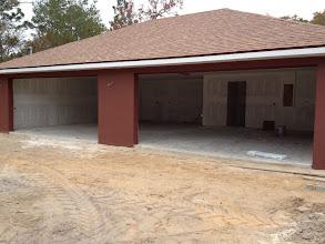 Photo: December 10, 2012 Garage space. Photo by Lake Weir Living
