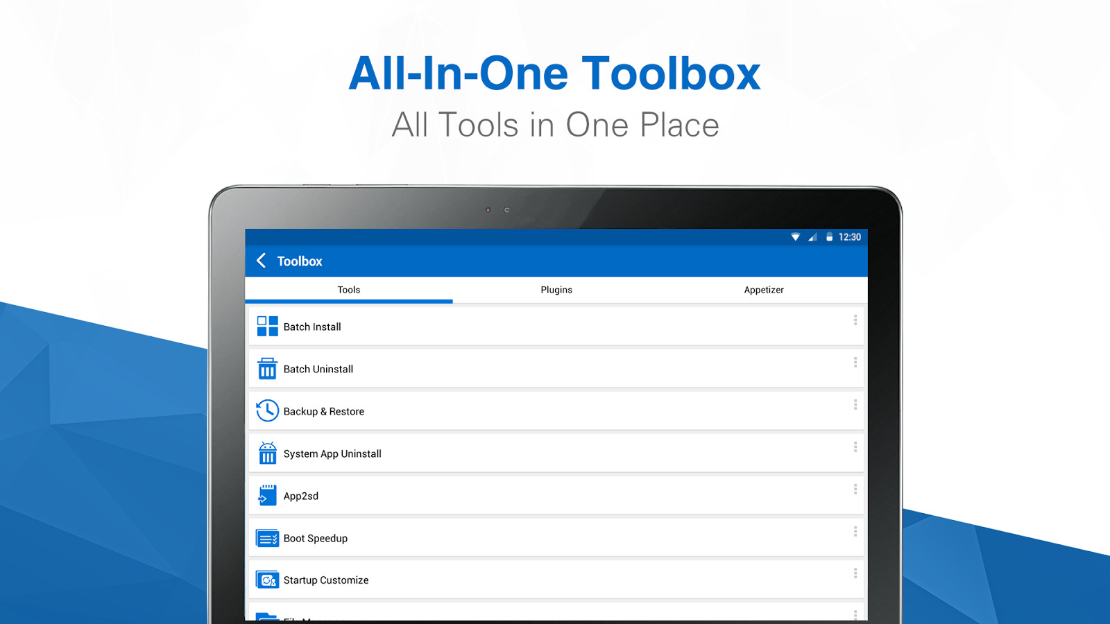 All-In-One Toolbox (Opschoner) - screenshot