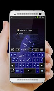 Christmas Star GO Keyboard - screenshot thumbnail
