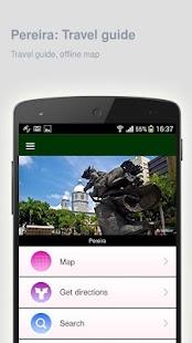 Pereira: Offline travel guide - náhled