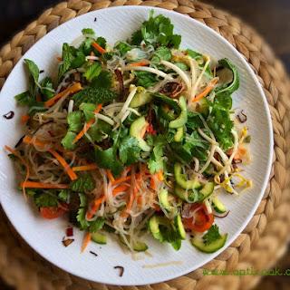Vietnamese Konjac Noodle Salad