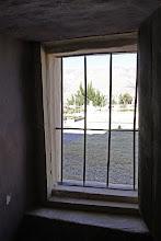 Photo: Vista de la Plaza desde el interior dela Iglesia Madrigal, Caylloma - Arequipa