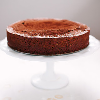 Chocolate Almond Caprese Cake Recipe