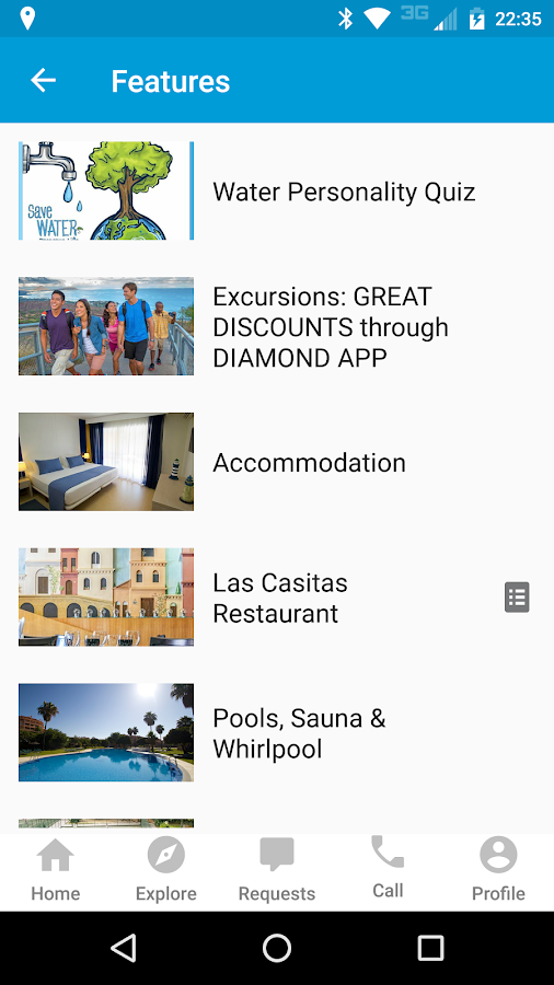Diamond Resorts International®- screenshot