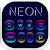 Fluorescent neon Keyboard file APK for Gaming PC/PS3/PS4 Smart TV