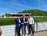 Marc Grosjean veut faire du FC Liège une valeur sûre en D1 Amateurs puis faire monter le club en D1B