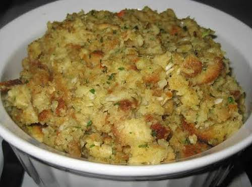 """My Mom's Perfect Thanksgiving Stuffing""""My mom is 91 years old now, but..."""