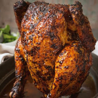 Beer Can Chicken.
