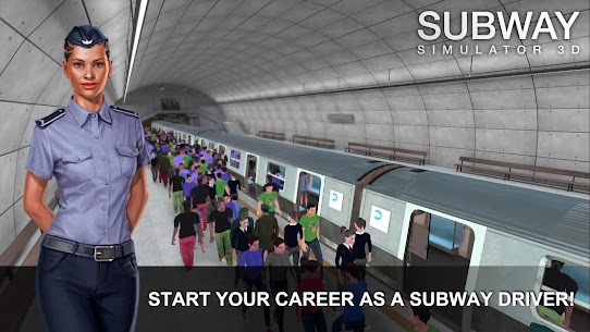 Subway Simulator 3D Mod Apk 3.4.0 (Unlimited Money + No Ads) 1