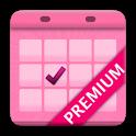 Menstrual Calendar Premium icon