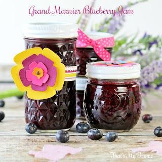 Grand Marnier Blueberry Jam