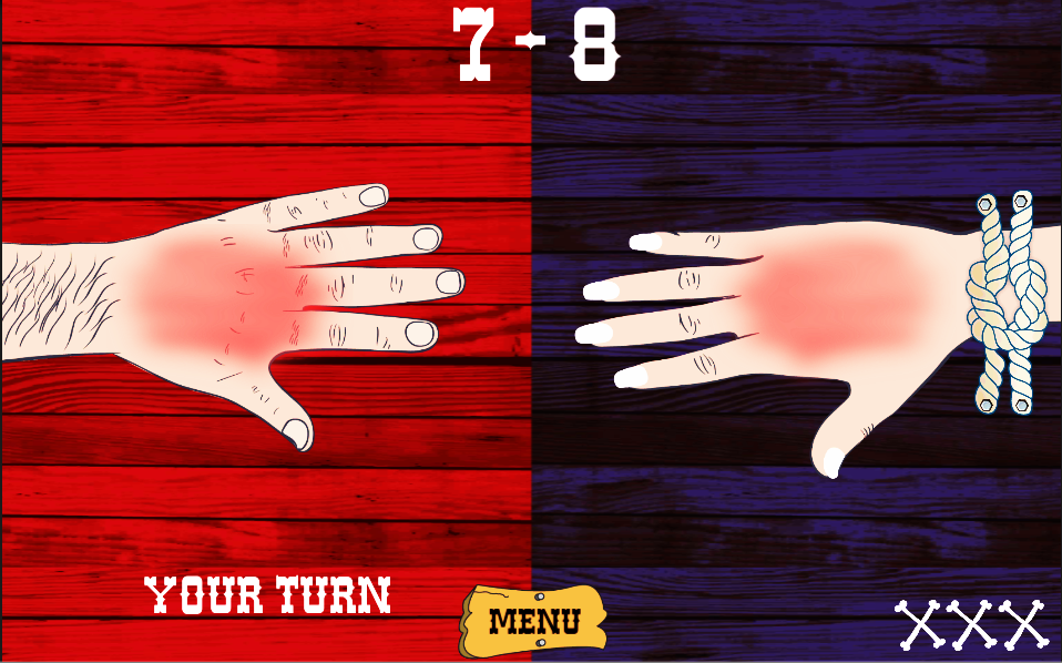Hand Shot Two Player Games- screenshot