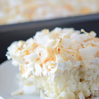 Coconut Sheet Cake.