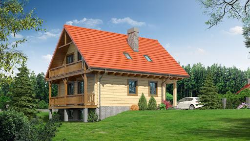 projekt Bartne drewniane