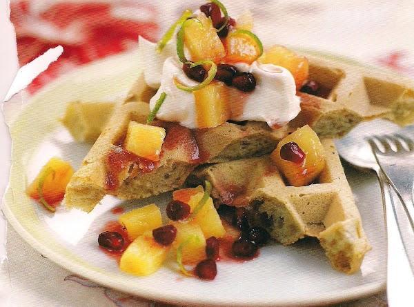 Caribbean Coconut Waffles Recipe