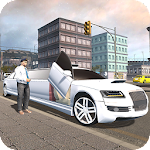 Crazy Limousine City Driver 3D Icon
