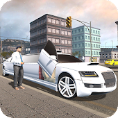 Crazy Limousine City Driver 3D