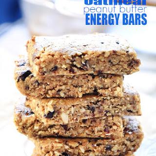 Oatmeal Peanut Butter Energy Bars.