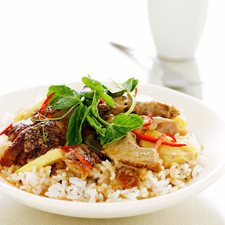 Red Duck Curry With Pineapple And Tamarind