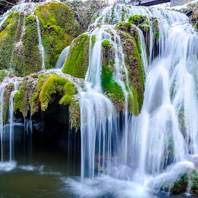 Amazing Bigar waterfall by Stefan Sorean - Landscapes Waterscapes ( beautiful, nature, stream, waterfall, water, landscape )