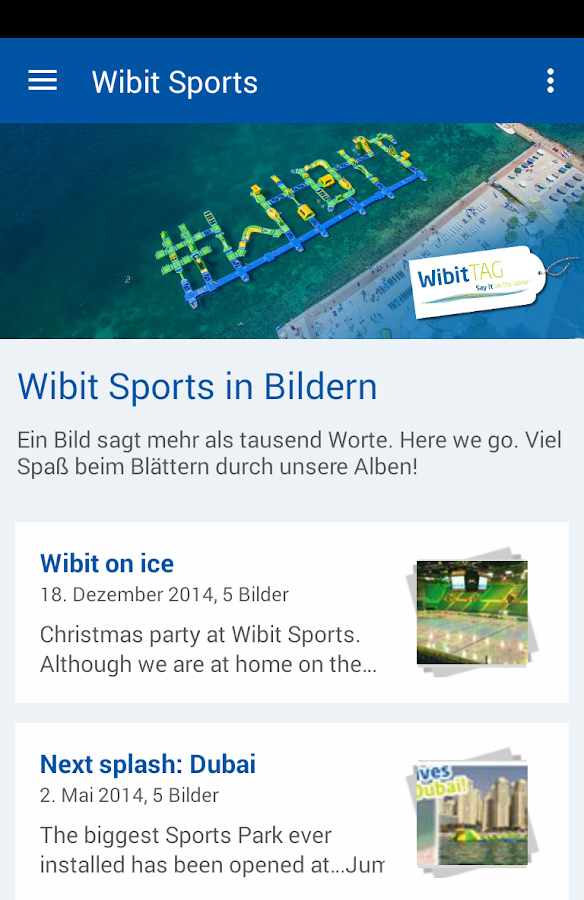 Wibit Sports GmbH- screenshot