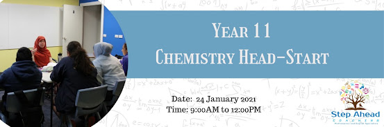 Year 11 Chemistry Head-Start