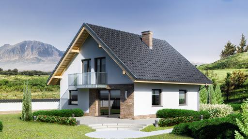 projekt Dom przy Oliwkowej 3 N