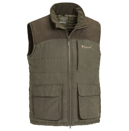 Pinewood Abisko Vest Suede Brown