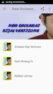New Sholawat Rijal Vertizone Screenshot