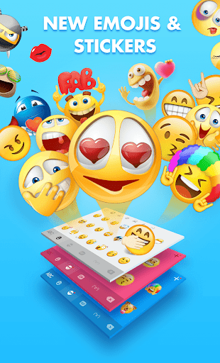 Smiley Emoji Keyboard 2018 - Cute Emoticons 1.2.0 Screenshots 1