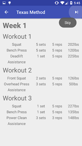 Press Strength Training by Santiago Martin (Google Play