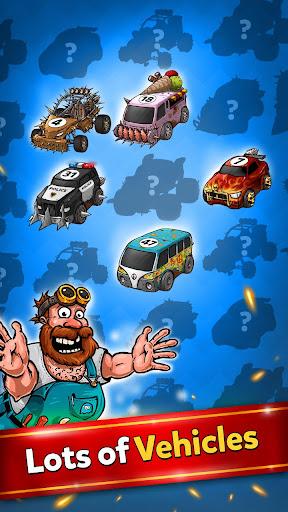 Battle Car Tycoon: Jeux de fusion au ralenti  captures d'u00e9cran 2