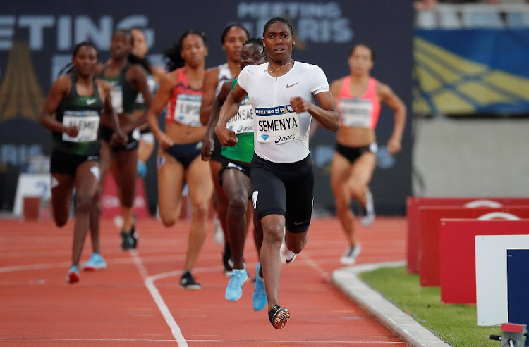 South Africa's Caster Semenya at the Diamond League - Charlety Stadium, Paris, France.