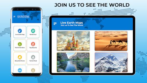 Live Earth Map 2020 -Satellite & Street View Map 2.1 screenshots 8