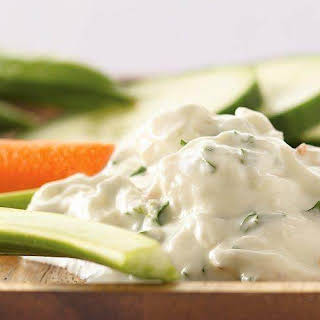 Greek Yogurt and Feta Dip.