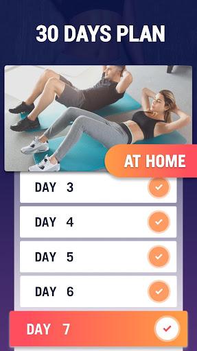Fat Burning Workouts - Lose Weight Home Workout 1.0.3 screenshots 2