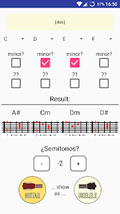 Chords Transposer Free- screenshot thumbnail