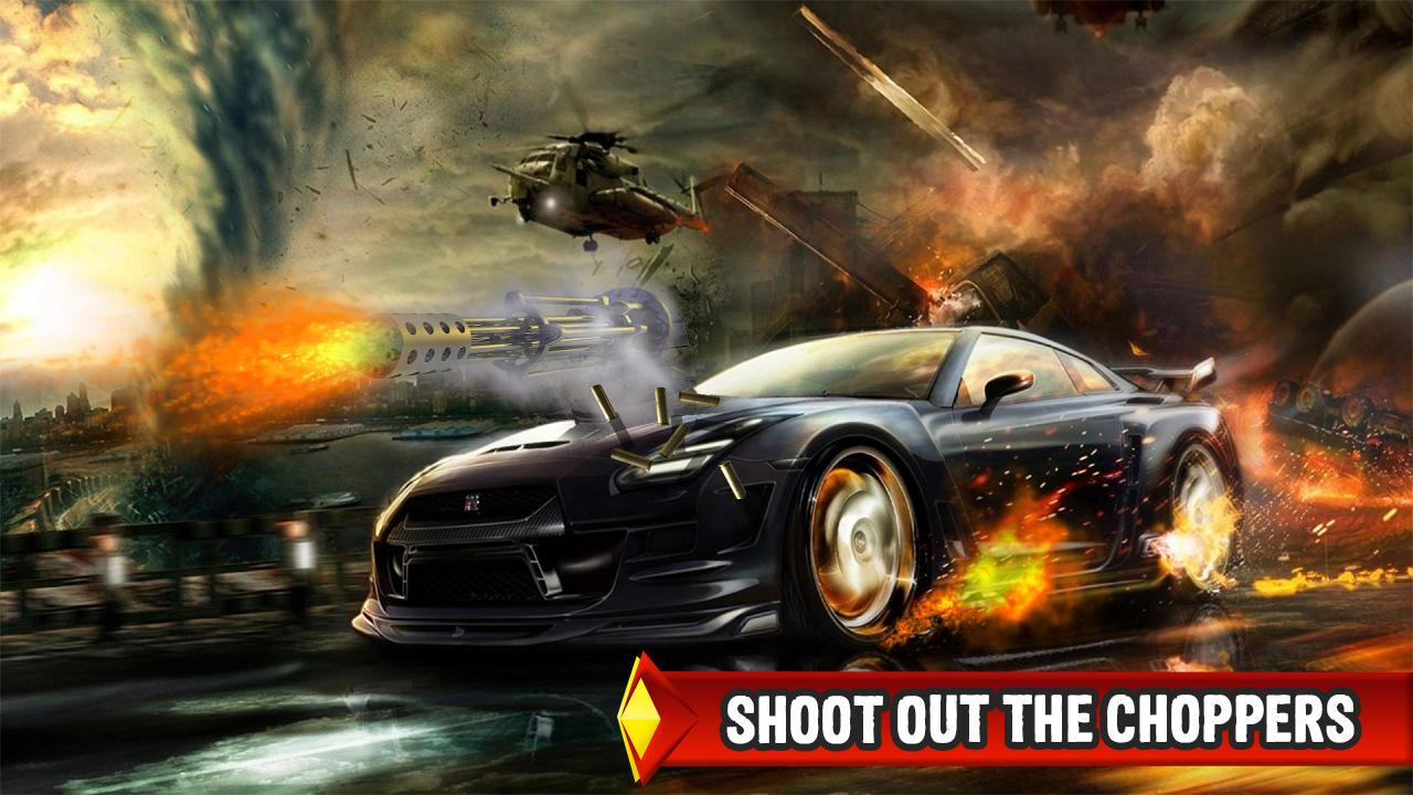 Mad Death Race: Max Road Rage- screenshot