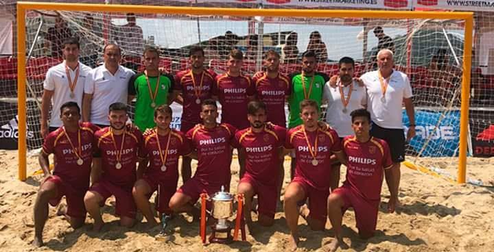 Con la Selección de Murcia.