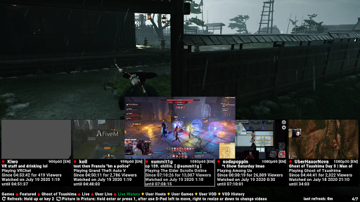 SmartTV Client for Twitch screenshot 2