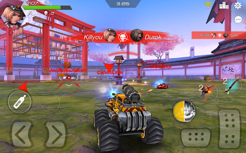 Overload: Multiplayer Battle Car Shooting Mod Apk v1.5 ...