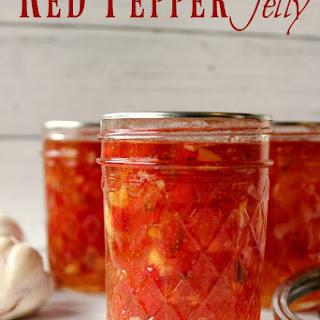 Red Pepper Garlic Jelly Recipe