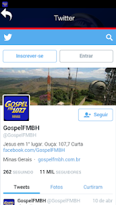 Gospel FM Minas Radio screenshot 3