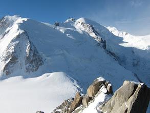 Photo: The Mt. Blanc summit.