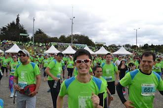 Photo: Felices y listos para correr