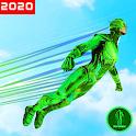 Invisible Light Speed Superhero Rescue Mission icon