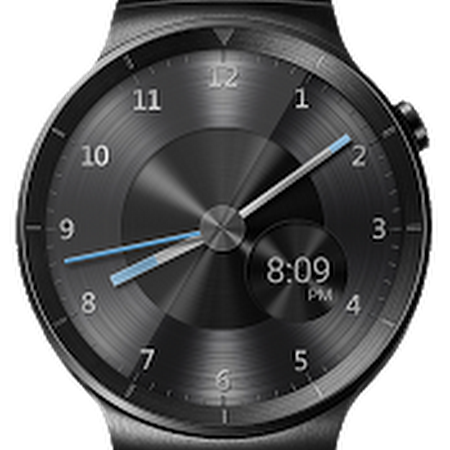 QnA VBage Black Metal HD Watch Face Widget & Live Wallpaper v4.8.1
