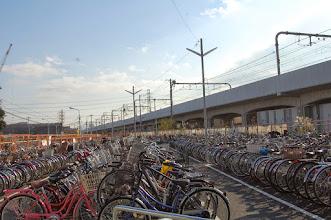 Photo: Parc à vélos