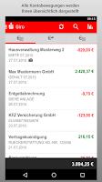 Screenshot of Sparkasse